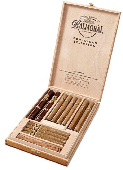 Balmoral Dominican Selection Collection 12 Zigarren 100% Tabak  Holzkiste
