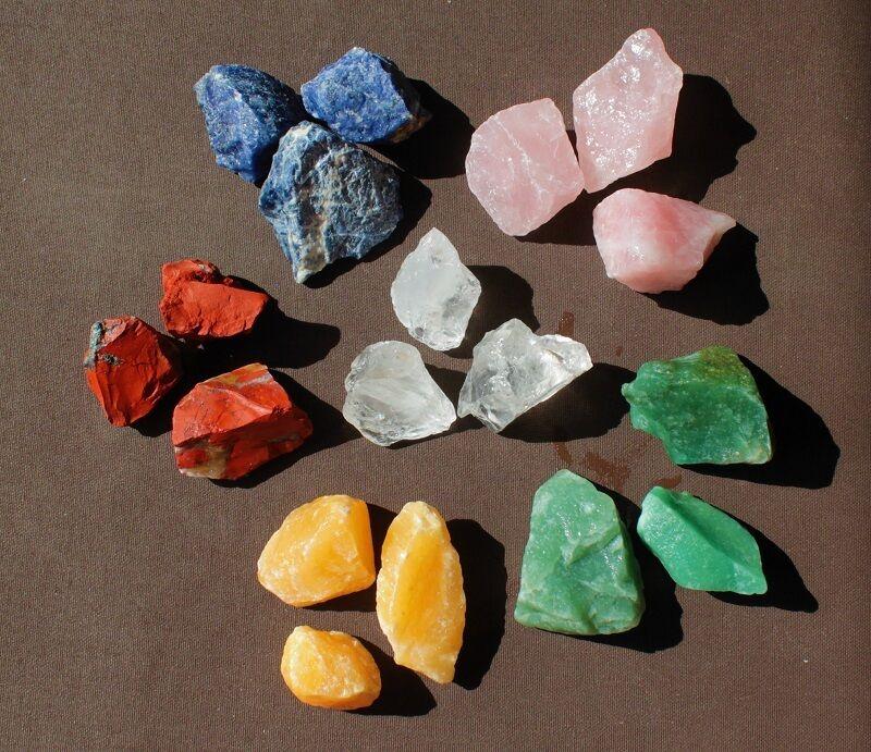 Wasserstein Mischungen Heilsteine Edelsteine Edelsteinwasser SET diverse Sorten