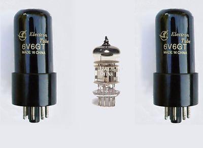 6V6 & 12AX7 Valve kit for Fender Super Champ XD or X2 guitar amps