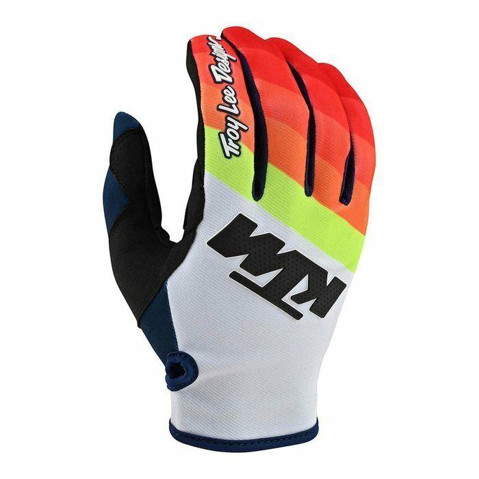 guanti KTM Troy Lee Designs arancio moto cross enduro downhill mtb quad atv TLD