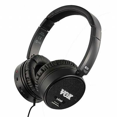 Vox amPhones Lead Active Guitar Amp Headphones (black)