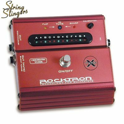 Rocktron Classic XTune Floor Chromatic Tuner Pedal.
