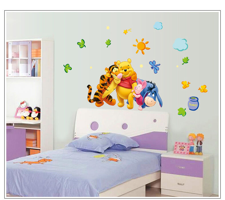 Wandtattoo Wandsticker XL Winnie Pooh Tigger Wandaufkleber Kinderzimmer Disney 1