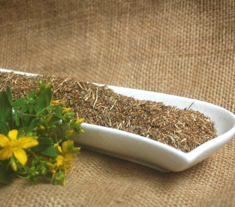 100g-1000g | Johanniskraut geschnitten, Johanniskraut Tee - von Krauterino24