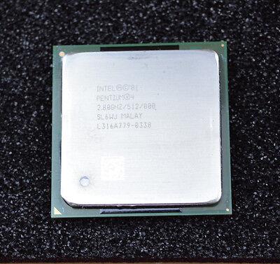 Fujitsu Siemens PC Prozessor CPU P4 Pentium 4 2,8 GHz 512 800 MHz in OVP