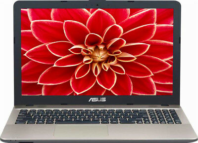 "NEW Asus X541 15.6"" Intel Quad Core 2.5GHz 4GB RAM Bluetooth DVDRW Windows 10"