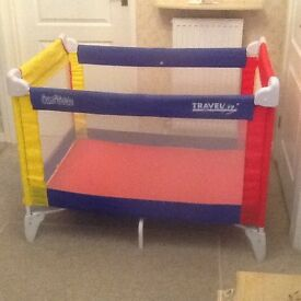 Baby Travel Cot Very Good Condition