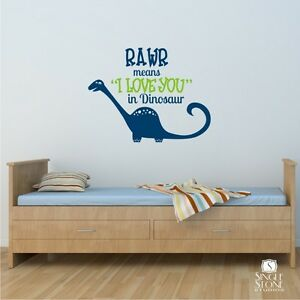 Download RAWR-Means-I-Love-You-Dinosaur-Wall-Decal-Vinyl-Wall ...