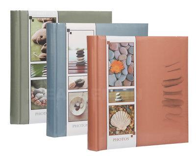 Wellness Fotoalbum in 30x30 cm 100 Seiten Buchalbum Jumbo
