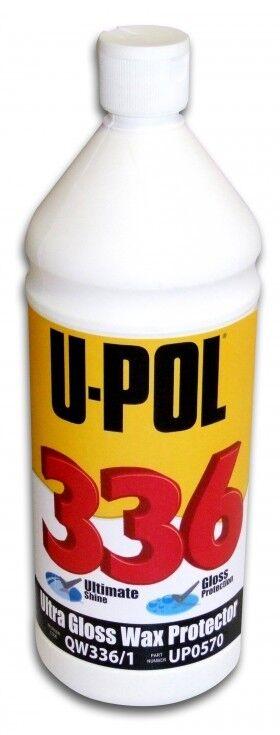 U-POL 336 1L Profi Ultra Hochglanzversiegelung Politur für Autolack upol