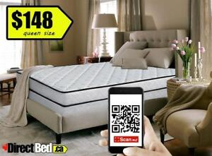 Brand New Queen Mattress 2 Sided Top Design