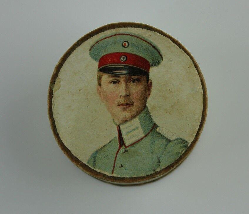 Antike Schmuckschatulle - Schmuckdose Schatulle - Pappe - um 1910