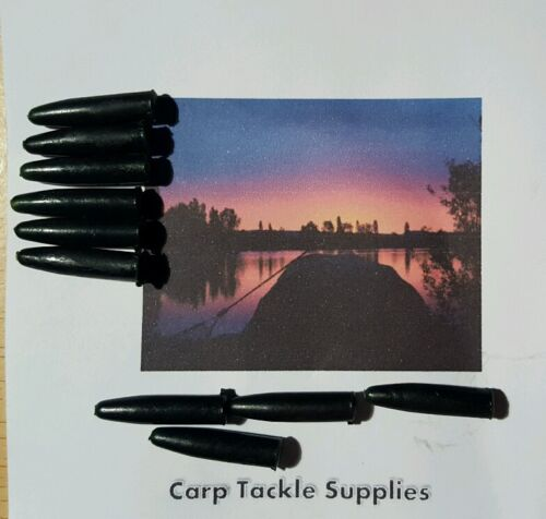 Silicon-Sleeves-Very-Dark-Green-Pack-Of-25-Carp-Pike-Barbel-Fishing