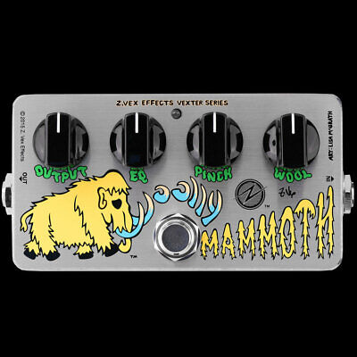 Z.VEX ZVex Effects Pedal, WOOLLY MAMMOTH VEXTER, Brand New in Box
