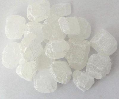 Kluntje - weißer Kandis - Zucker - weißer Friesenkandis in verschiedenen Mengen
