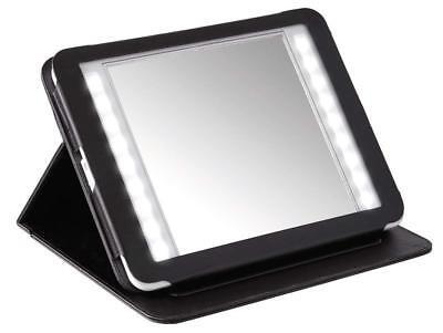 Reisespiegel KERRY von NICOL mit LED-Beleuchtung Taschenspiegel Kompaktspiegel