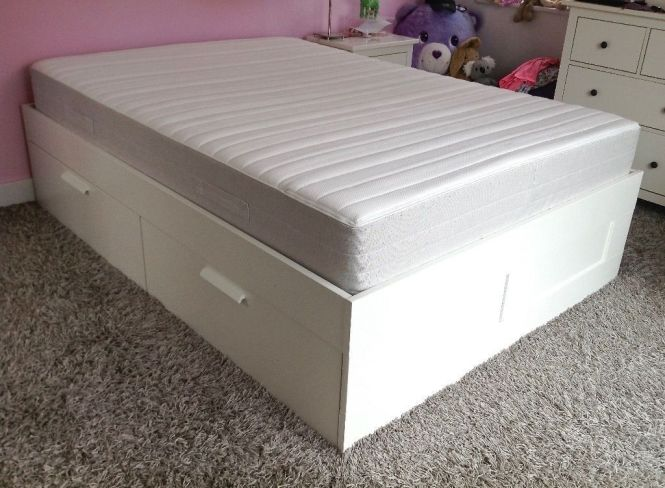 Memory Foam Thick Double Mattress Can Deliver Or Collection