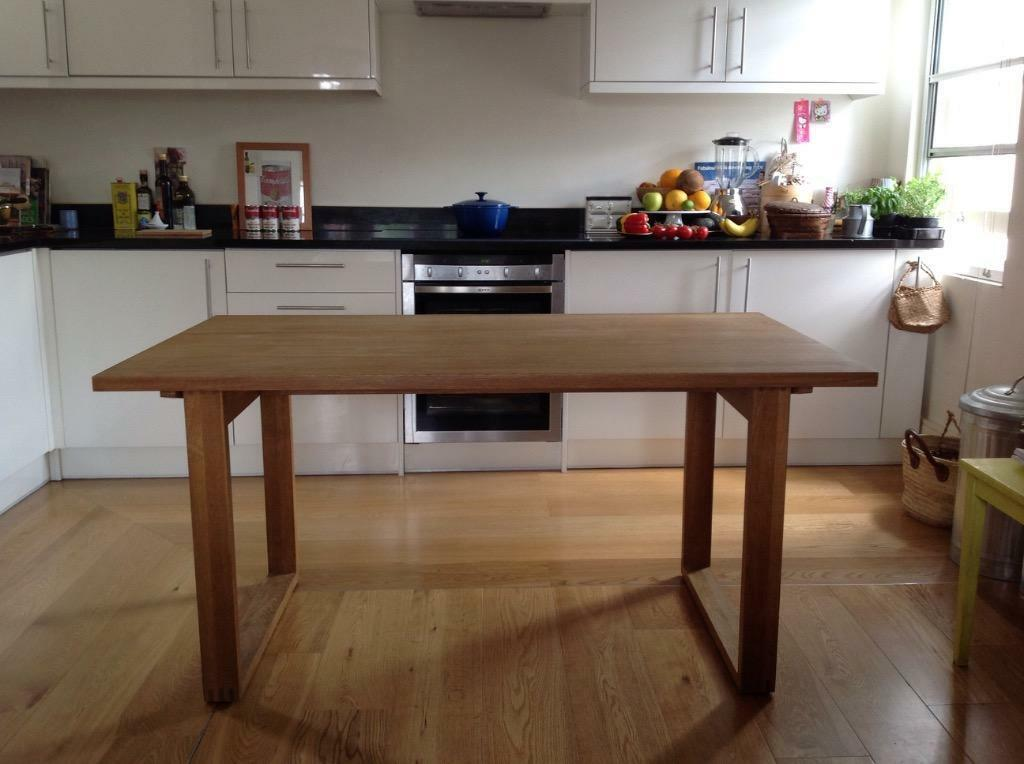 MUJI Solid Oak Dining Table Which Can Be Taken To Pieces In Chelsea London Gumtree