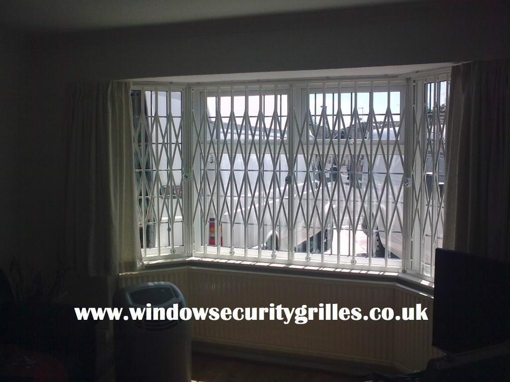 Folding Concertina Security Grilles For Window Door
