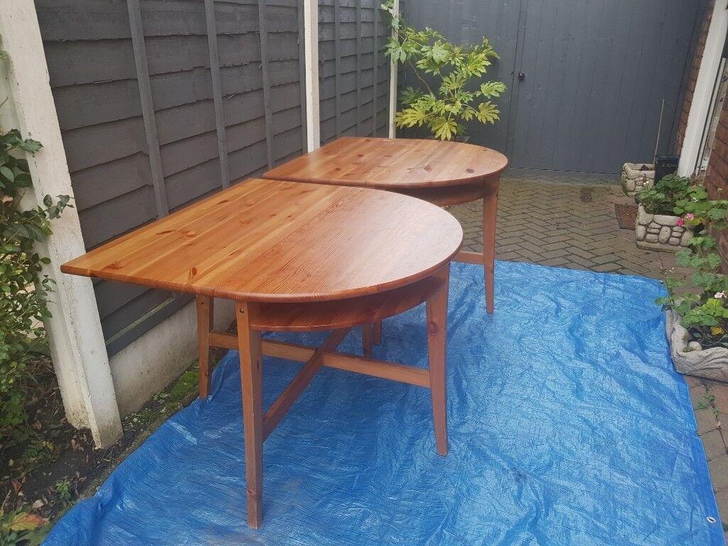 Table Demi Lune Ikea Gamboahinestrosa