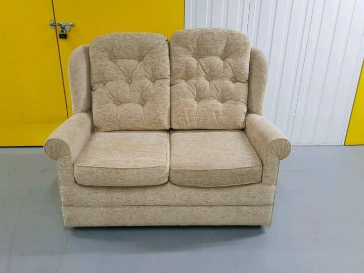 Ex Display Fabric Hsl Chair Specialist 2 Seater Sofa