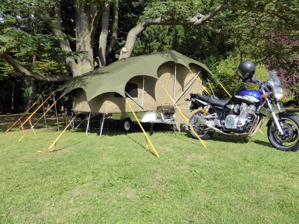 Camper Trailer For Motorbike Trike Sidecar Combo Or