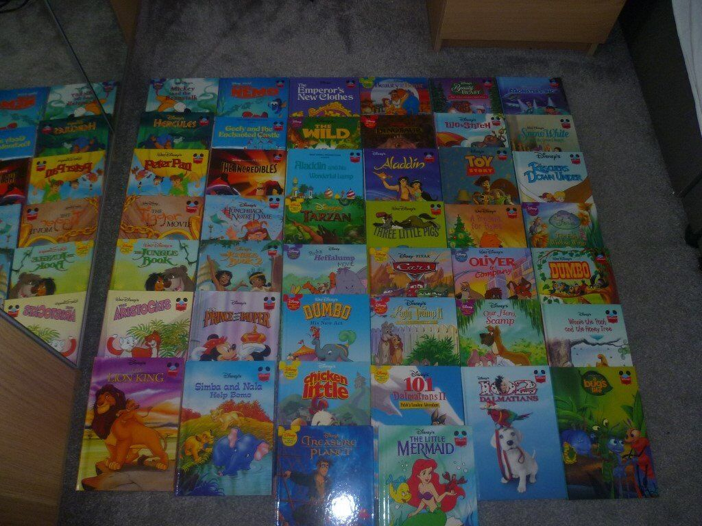 Wonderful World Of Disney Reading Book Collection 44