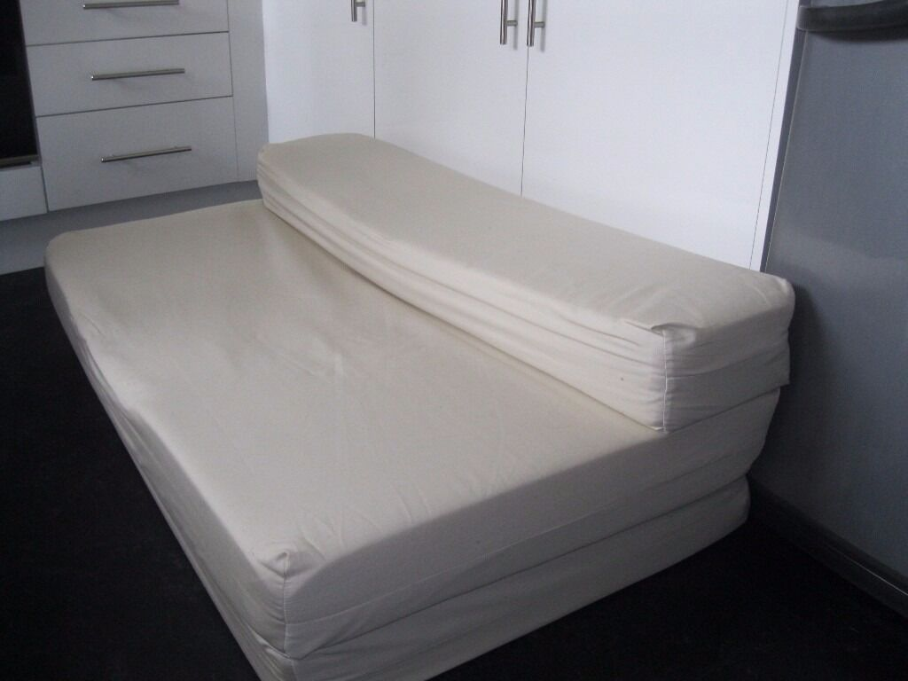 Folding Mattress Sofa Bed Fold Out Foam Double Guest Z Bed
