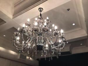 2 Elegant Chandeliers An Excellent Condition Save Thousands Only 1000 Each Like New