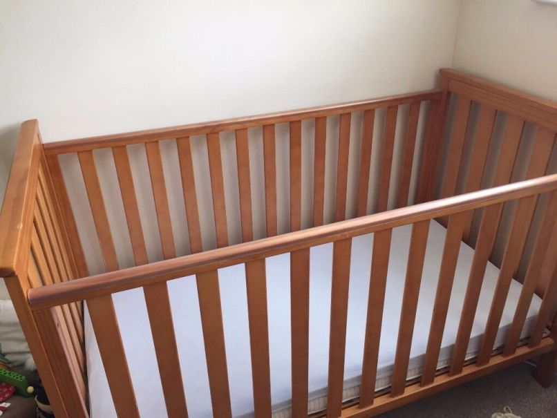 Mothercare Pine Jamestown Cot Bed