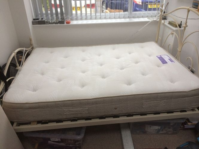Mattress For Double Bed Sleepmasters Tranquility Range Firm Open Coil Spring Cost New 250 00