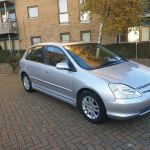 Honda Civic 2004 Automatic 1 Year M O T Leather Seats Dvd Cd Player Navigation In Canary Wharf London Gumtree