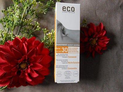 (48,00€/100ml) Eco Cosmetics Sonnenöl LSF 30 50 ml