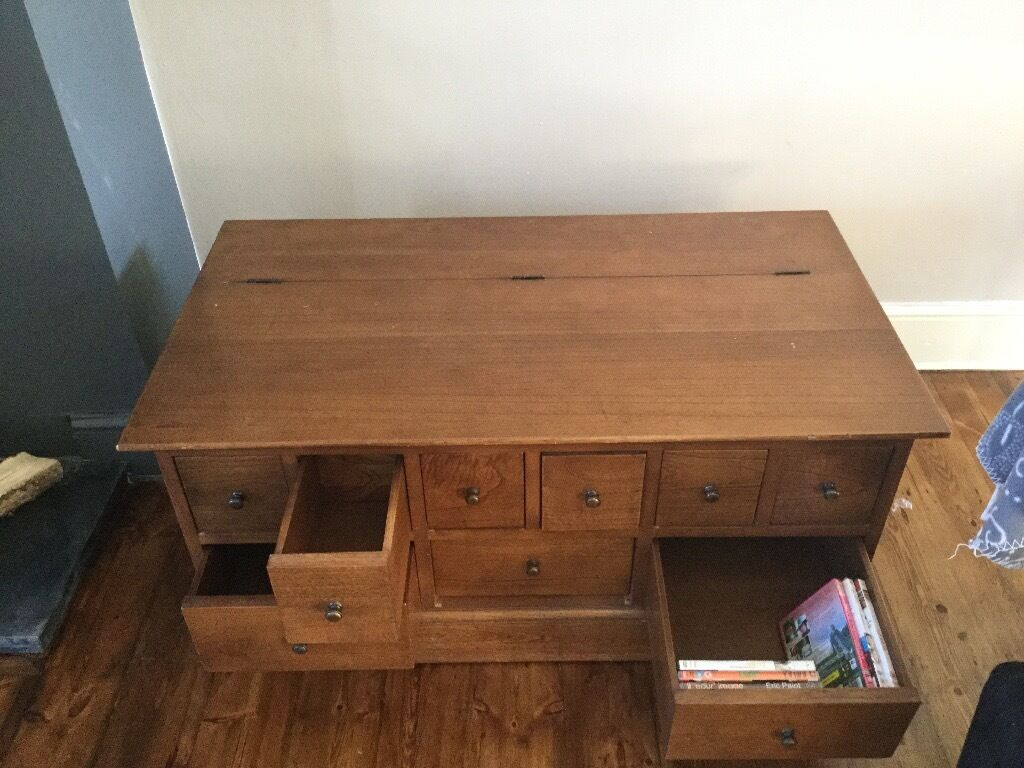 Solid Wood From John Lewis Coffee TableCD Storage In Southampton Hampshire Gumtree