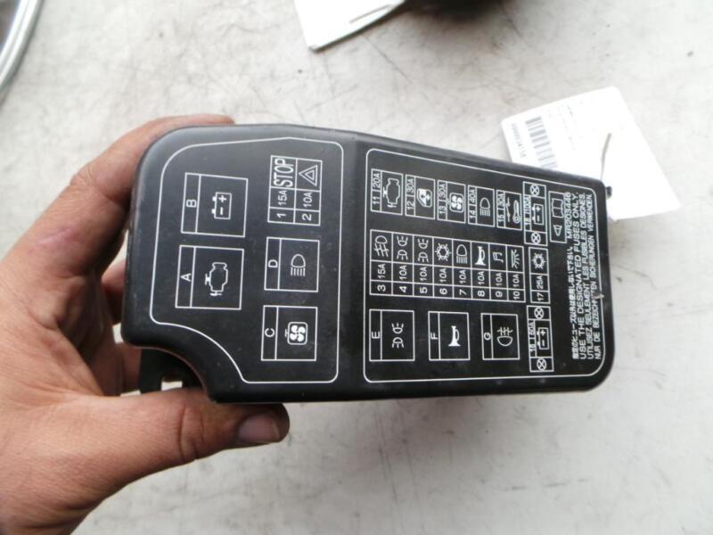 MITSUBISHI MIRAGE FUSE BOX IN ENGINE BAY CECJ,15LTR