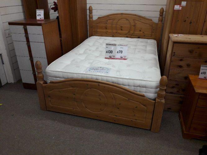 Bed Frame And Dorlux Mattress