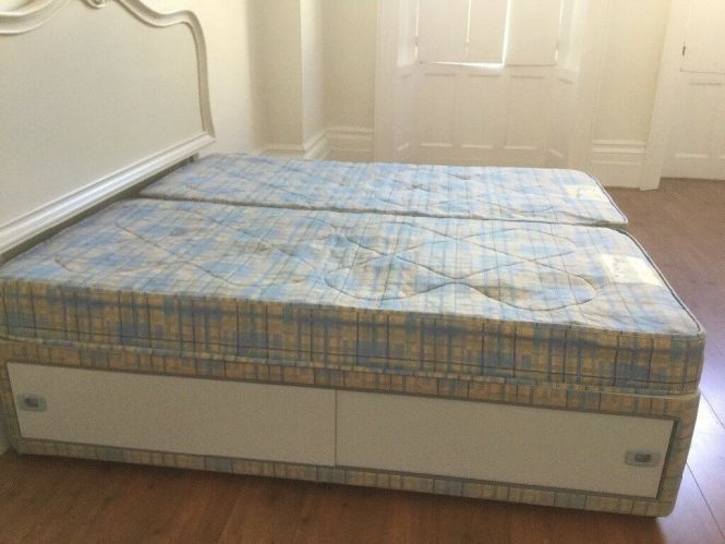 Single Divan Bed And Mattress For Excellent Condition