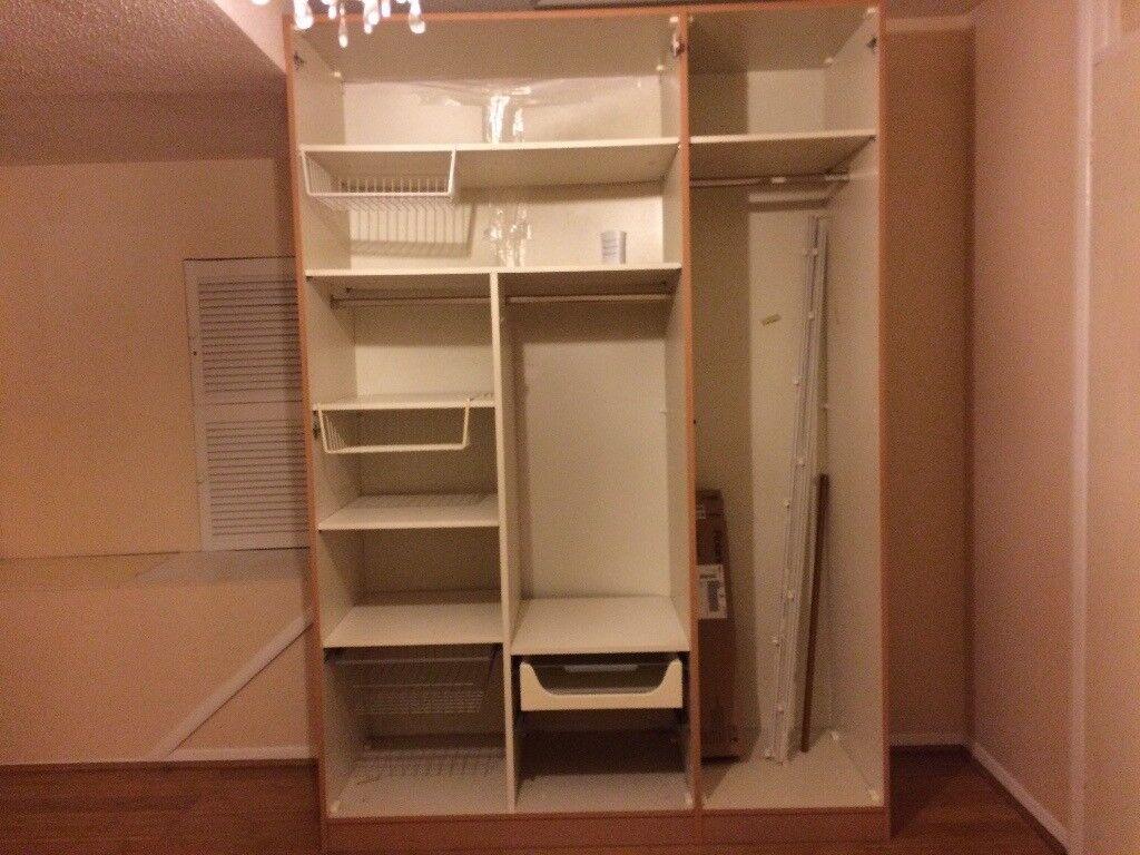 Free Tall Bedroom Wardrobe W150cm X D60cm In Calcot