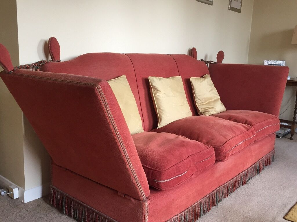 Antique Knole Sofa X2 Will Separately 250 Each