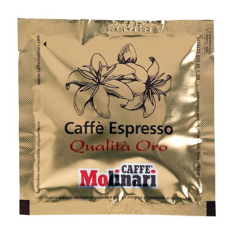 Caffè Molinari Espresso Qualità Oro, 150 ESE/ Espressopads/Pods/Cialde, 1,05 kg