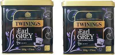 1 KG Twinings Earl Grey Tee 2x500 g.