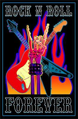 art posters z158 rock n roll theater