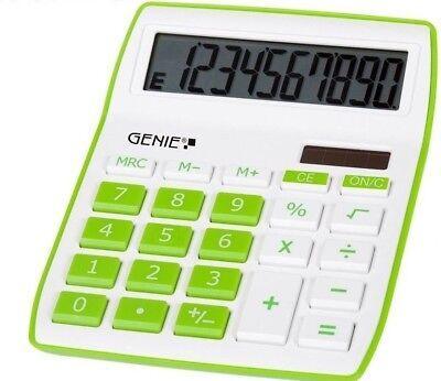 GENIE 840G Solar Tischrechner Rechenmaschine Rechner Bürorechner Taschenrechner