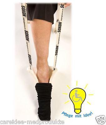 Sockenanziehhilfe, Anziehhilfe für Socken Strümpfe Soxon mit Bambus-Frottee