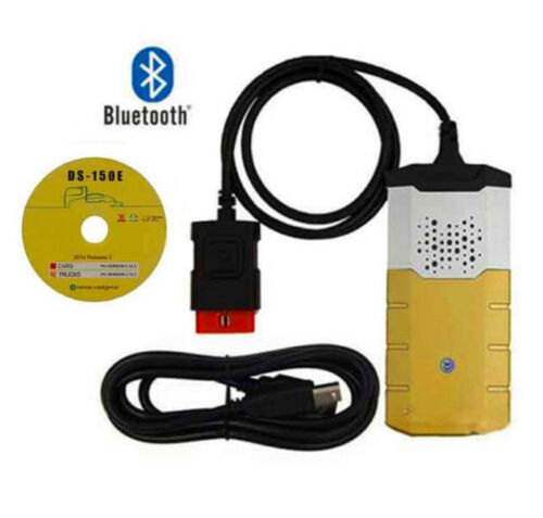 KFZ Profi Diagnosegerät Bluetooth OBD Diagnose Scanner mit DS 2015R3 Software