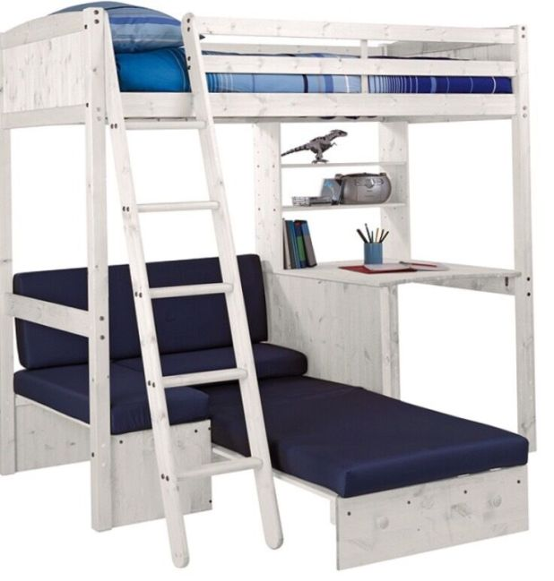 High Bed With Sofa Under Brokeasshome Com