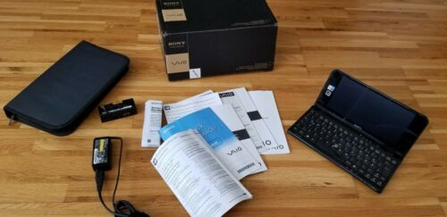 Sony VAIO VPCP11S1E/B SubNotebook, P11S + Akku +Netzteil +Tasche 64GB SSD 3G GPS