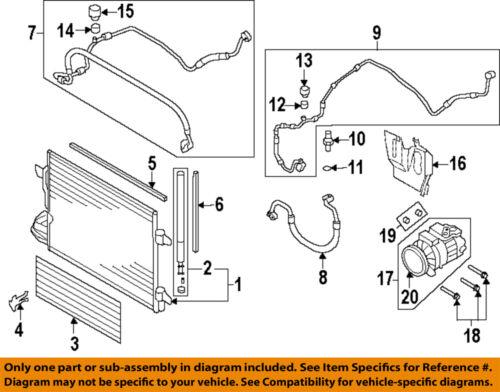 VW VOLKSWAGEN OEM Jetta AC Condenser, Compressor LinesAc Hose 1K0820743BR | eBay