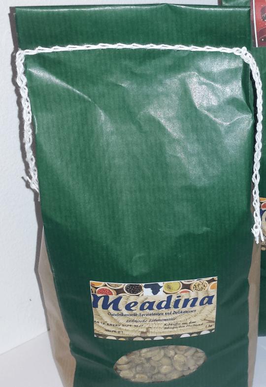 Rohkaffee, grün, Äthiopien, 1 kg, Djimmah, Ernte 2018
