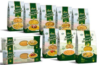 10x500g Nudeln von Sam Mills - Pasta d'oro - Glutenfrei